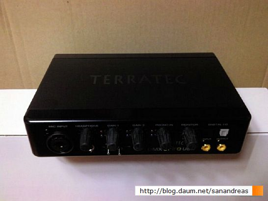 사운드 카드 : TERRATEC - DMX6Fire USB