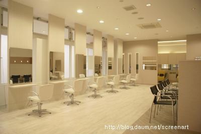 미용실인테리어(hairshop interior) - 스크린아트(screenart)