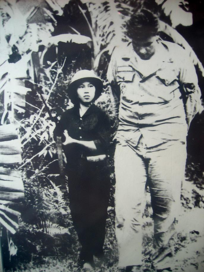 월남전 당시의 베트콩 여성[Vietnam War during Vietkong Woman]