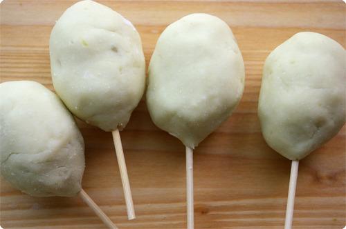 미니 미니 고구마찹쌀 핫도그 & 감자핫도그