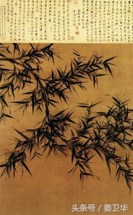 문동(文同): 송나라때 대나무 그림의 일인자