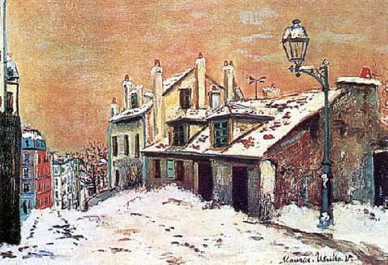 모리스 위트릴로의 작품세계 Ⅱ - Maurico Utrillo