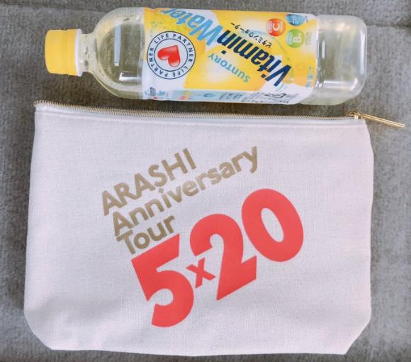 """★ 아라시 """"ARASHI Anniversary Tour 5×20"""" 굿즈 사진(실사) 추가!!!"""