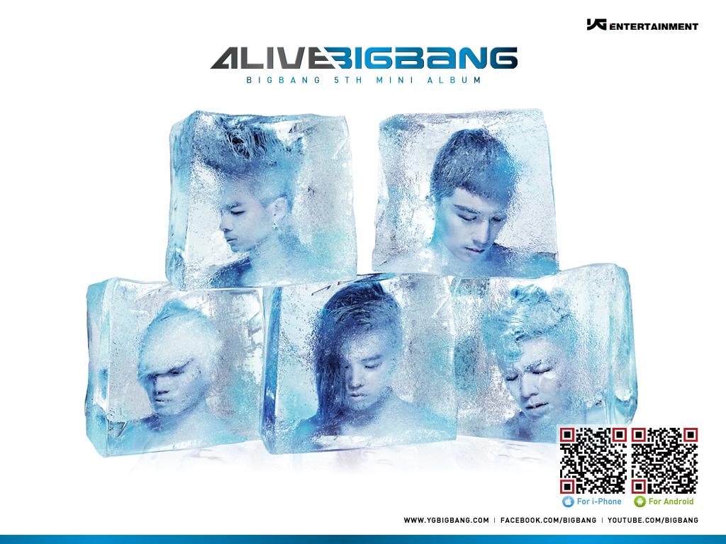 Bigbang Alive壁紙 Happy Life