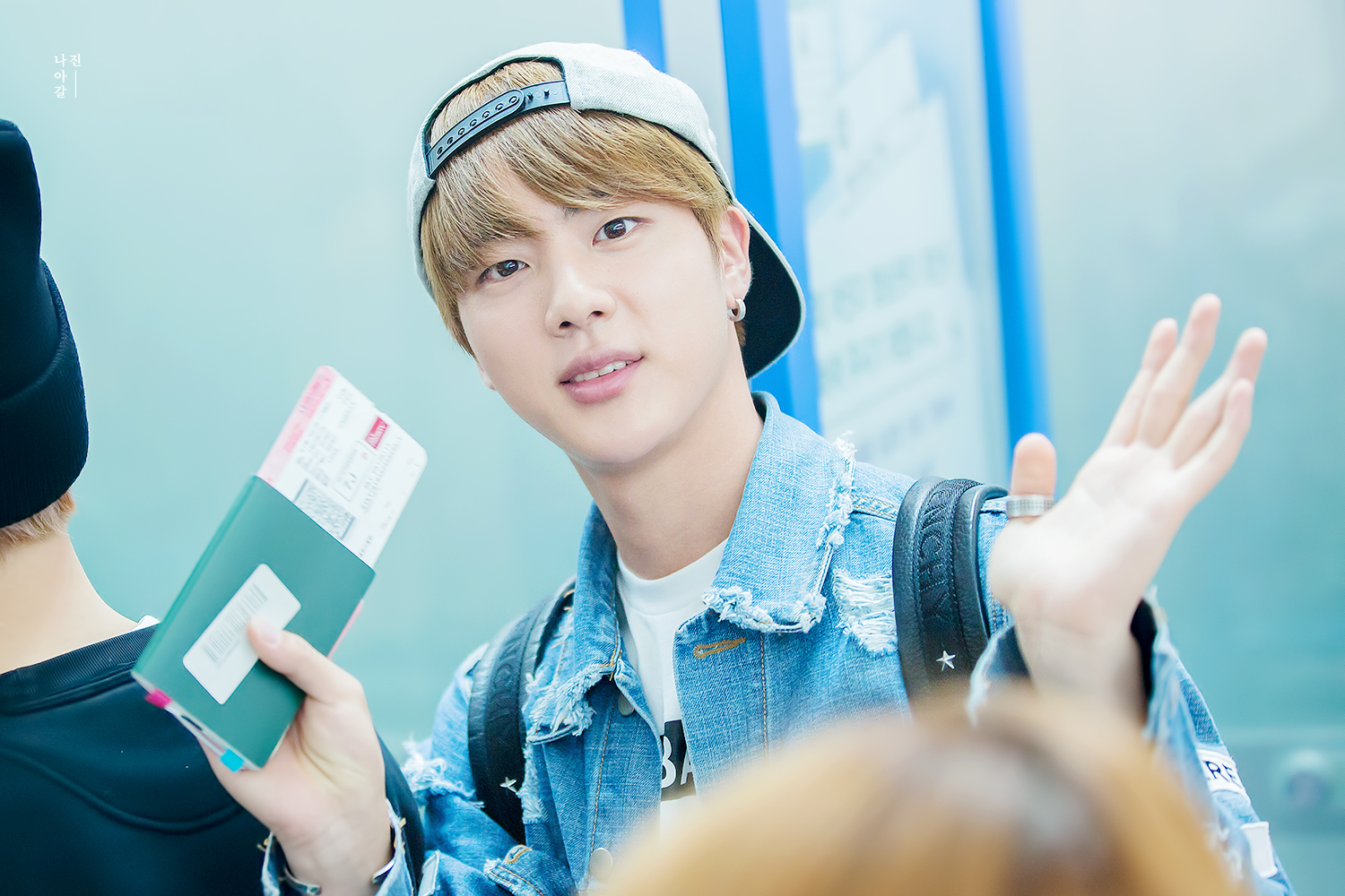 Picture Fansitesnap Bts At Incheon Airport Depart To