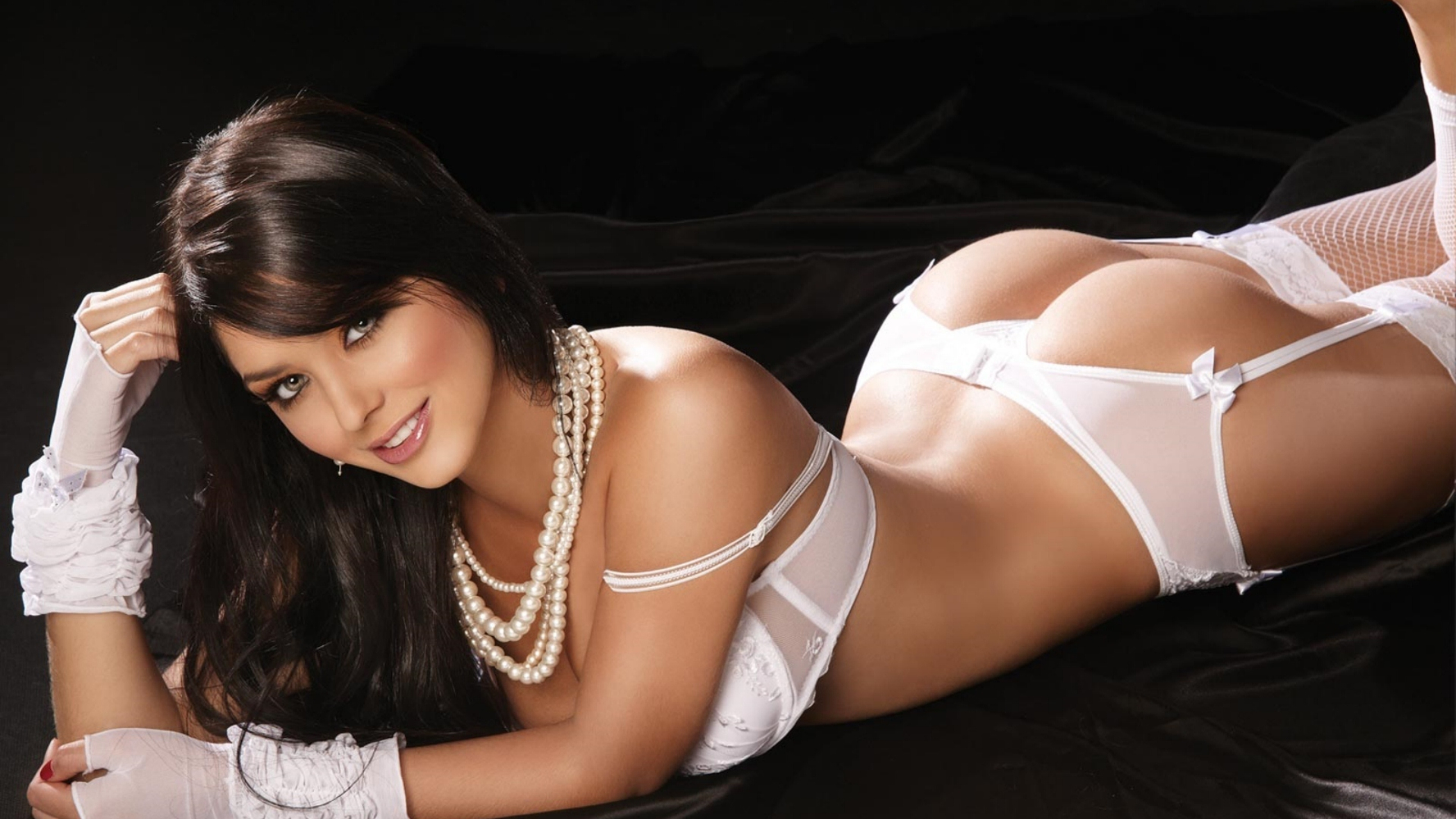 hot girl in sexy pose