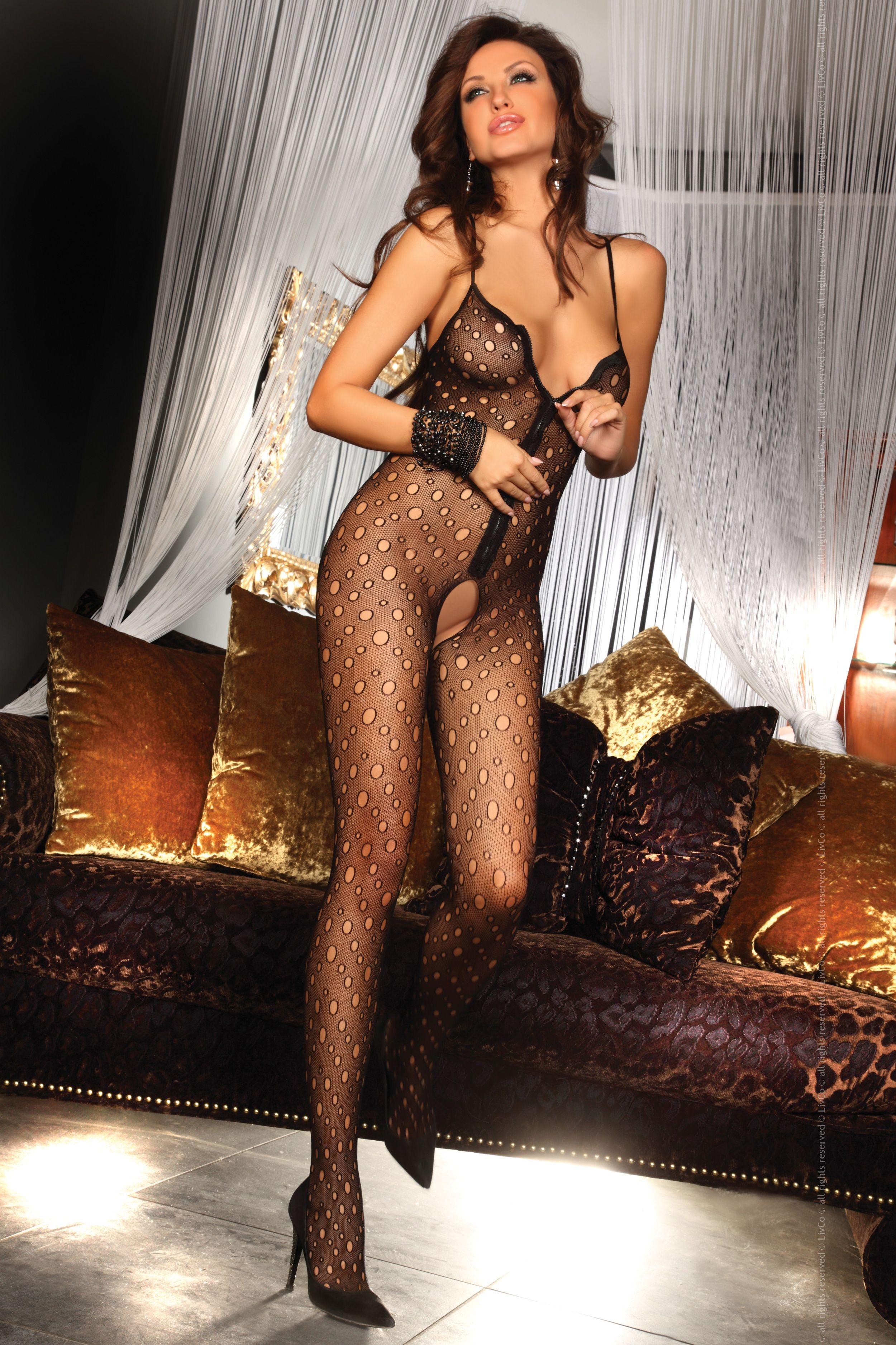 cool lingerie model