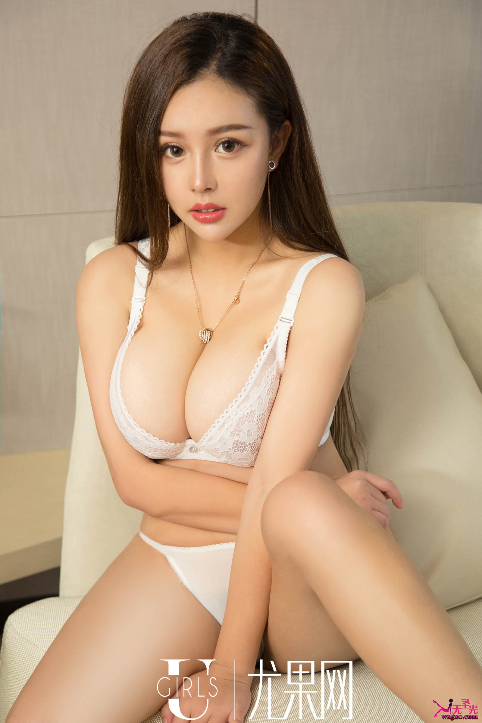 hot glamour Chinese in lingerie